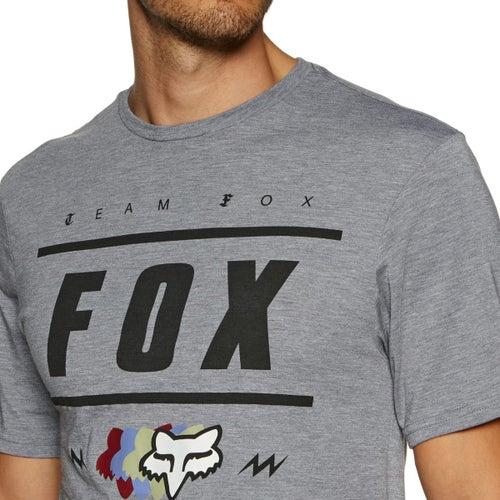 Fox Racing Team 74 Tech Short Sleeve T-Shirt - Htr Graph