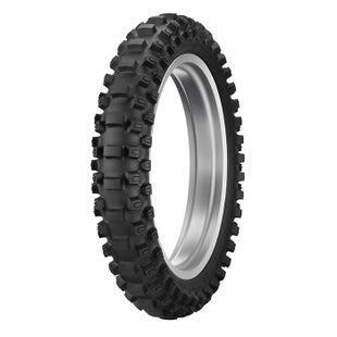 Dunlop Geomax Rear Tyre 110 90 Enduro and Motocross Tyre - 19 62M TT MX12 (Sand)