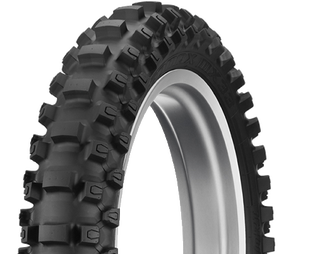 Dunlop Geomax MX33 Soft Rear Enduro and Motocross Tyre - Black
