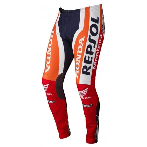 Hebo REPSOL MONTESA Team MX Kalhoty - Red Orange