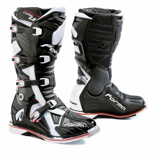 Forma Dominator Comp 2.0 Motocross Boots - Black