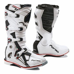 Forma Dominator Comp 20 MX Motocross Boots - White