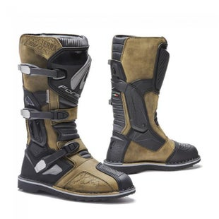 Forma Terra Evo Adventure Boots Motocross Boots - Brown