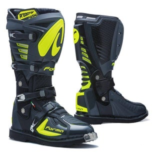 Forma Predator 20 MX Motocross Boots Motocross Boots - Anthracite Fluo Yellow