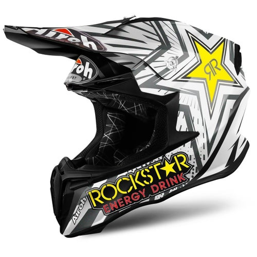 Kask MX Airoh Twist Team Rockstar - Medium