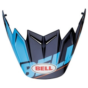 Visor casco Bell Replacement Moto 9 Flex Peak Blocked Blue - Blocked Blue