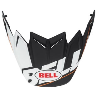 Bell Replacement Moto 9 Flex Peak Blocked Black Helmvizier - Blocked Black