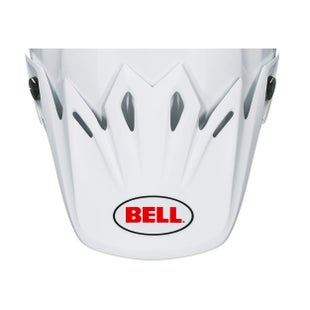 Bell Replacement Moto 9 Flex Peak Solid White Helmvizier - Solid White