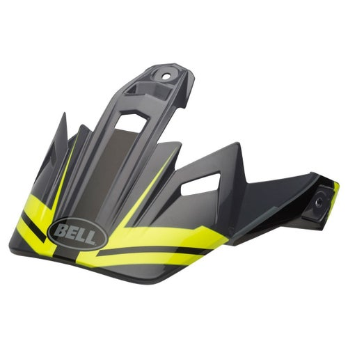 Bell Replacement MX9 Adventure Peak Barricade Helmet Peak - Matte Hi Viz