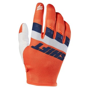 Shift WHIT3 LABEL Air Motocross Gloves - Orange