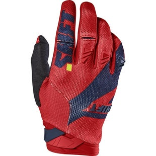 Shift 3LACK LABEL Mainline Pro Motocross Gloves - Navy Red