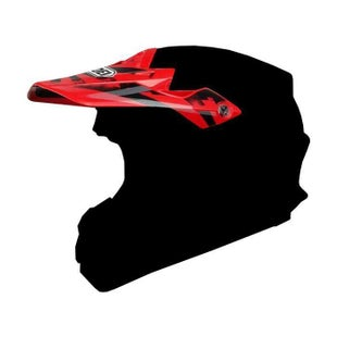 Shoei VFXW Dissent Helmet Peak - TC1