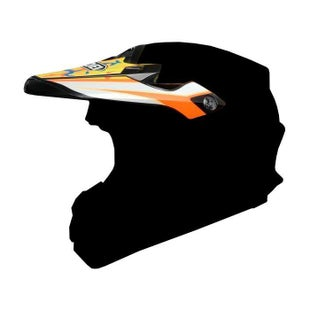 Shoei VFXW Turmoil Helmet Peak - TC8