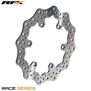 RFX Race Rear Disc Blue Husqvarna TC TE FC FE 1417 Husaberg 09 , Brake Disc - 13 (50605 for Black) + KTM + Husa