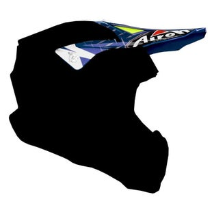 Airoh Twist Helmet Peak - Iron Blue
