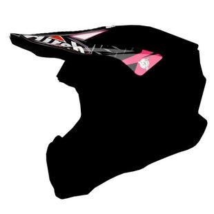 Airoh Twist Helmet Peak - Iron Pink