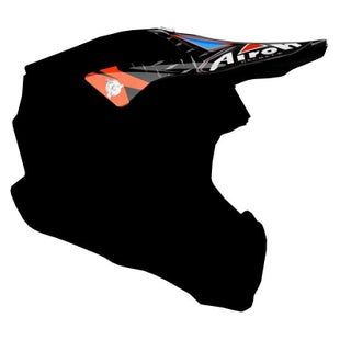 Airoh Twist Helmet Peak - Iron Orange