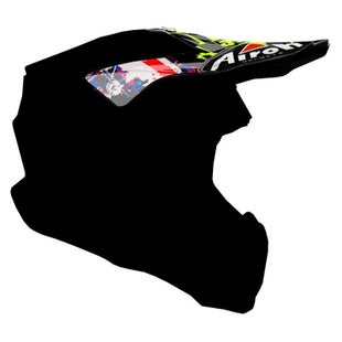 Airoh Twist Helmet Peak - Crazy Black