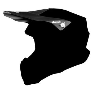 Airoh Twist Helmet Peak - Matte Black