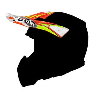 Airoh Aviator 2.2 Helmet Peak - Double Orange