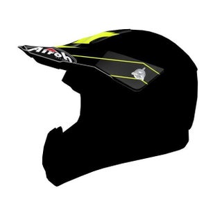 Airoh Switch Helmet Peak - Spacer Yellow