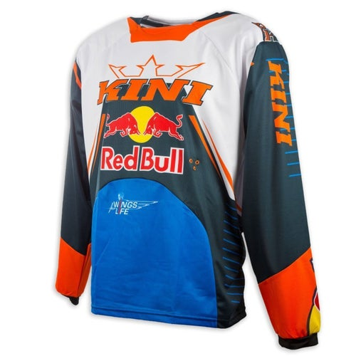 Kini Red Bull Kini Red Bull Competition Motocross Jerseys - Navy Orange