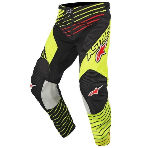 Alpinestars Racer Braap Motocross Pants - Flou Yellow Black