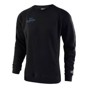 Troy Lee Cargo Crew Pullover Sweater - Black