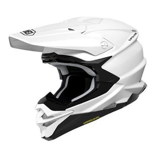 Shoei VFXWR Enduro and MX-Helm - White