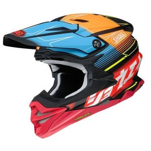 Shoei VFXWR Enduro and MX-Helm - Zinger TC10