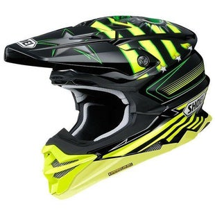 Shoei VFXWR Enduro and MX-Helm - Grant TC3