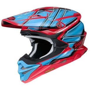 Shoei VFXWR Enduro and MX-Helm - Glaive TC1