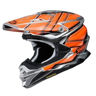Shoei VFXWR Enduro and MX-Helm - Glaive TC8