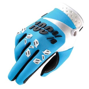 100 Percent 100 Airmatic Motocross Gloves - Blue