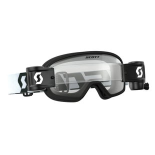 Scott Sports Buzz YOUTH Motocross Goggles Works RollOff System Motocross Goggles - Black