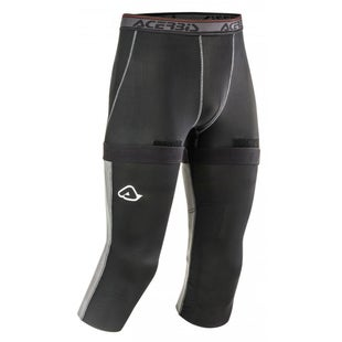 Acerbis XKnee Geco Undergear Base Layer Leggings - Black Grey