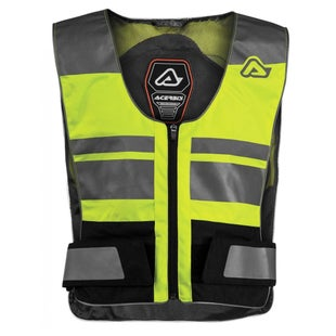 Acerbis Dual Road Freeway Vest Body Protection - Fluo Yellow