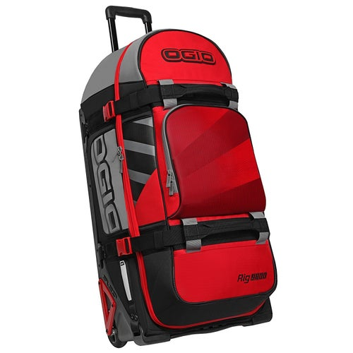 Ogio Rig 9800 Wheeled Motocross Gear Bag LE Gear Bag - Red Hub