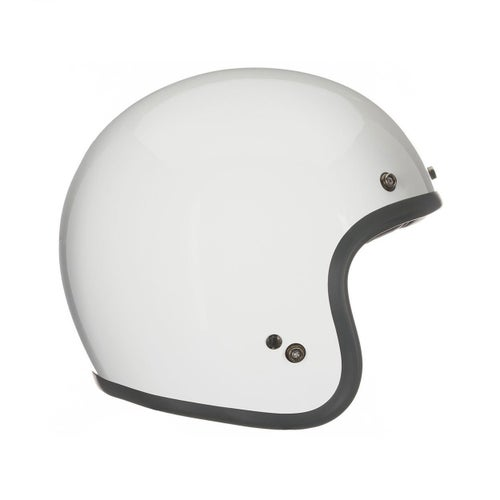 Bell Custom 500 Road Helmet - Solid Gloss Vintage White