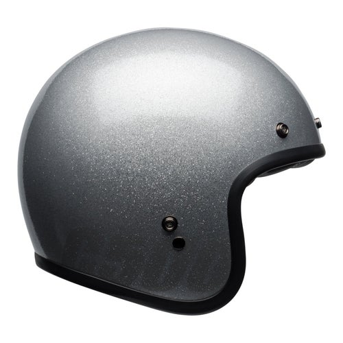Bell Custom 500 Road Helmet - Gloss Silver Flake