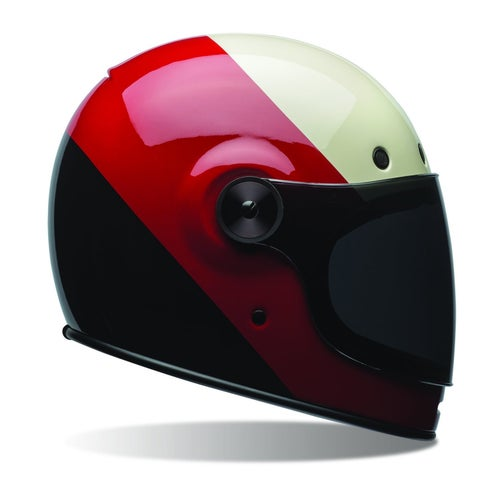 Bell Bullitt Road Helmet - Triple Threat Red Black