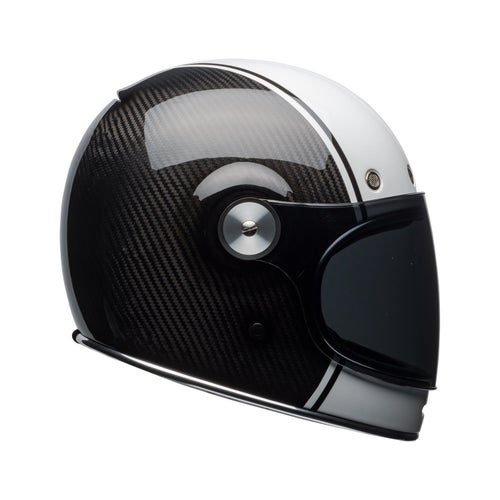 Bell Bullitt Carbon Road Helmet - Pierce White Carbon