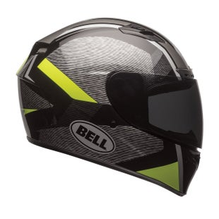 Bell Qualifier DLX MIPS Accelerator Road Helmet - Vis Yellow Black