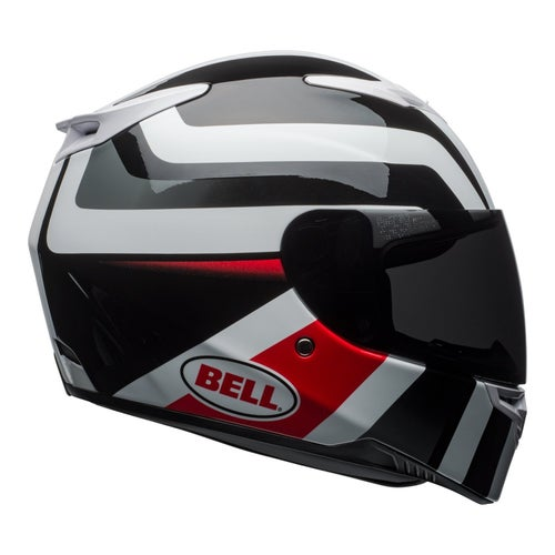 Bell RS2 Road Helmet - Empire White Black Red