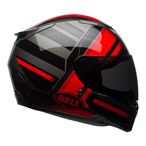 Bell RS2 Road Helmet - Tactical Red Black Titanium