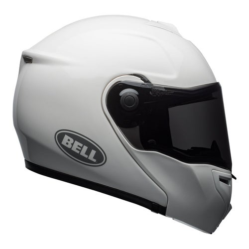 Bell SRT Modular Road Helmet - Solid Gloss White