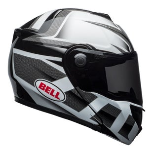 Bell SRT Modular Road Helmet - Predator Gloss White Black