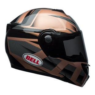 Bell SRT Modular Road Helmet - Predator Gloss Copper Black