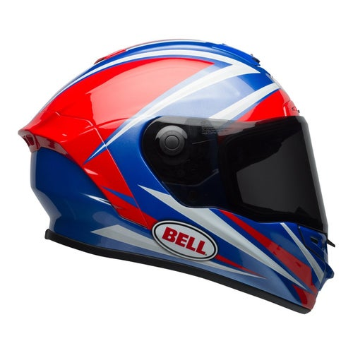 Bell Star MIPS Road Helmet - Tortion Gloss Red Blue