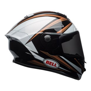 Bell Star MIPS Road Helmet - Tortion Gloss Copper White Black
